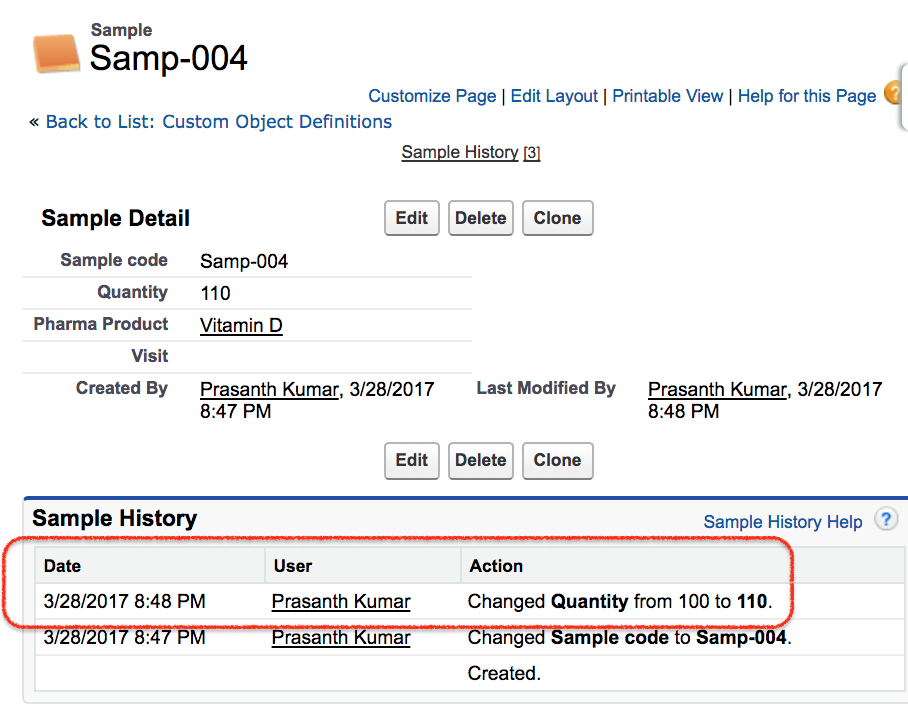 how to enable field history tracking in salesforce