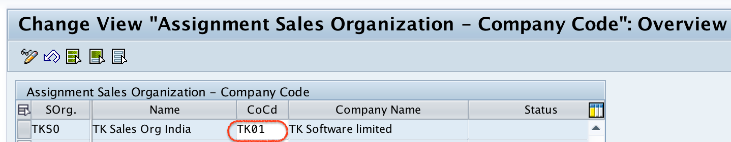 Assign Sales Organization to Company Code in SAP