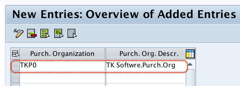 Define Purchase Organization in SAP