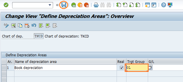 Copy Reference Chart of Depreciation in SAP CO