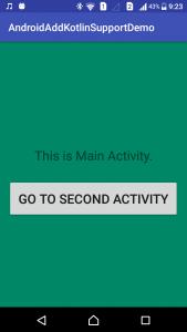 Android Application MainActivity - www.tutorialkart.com