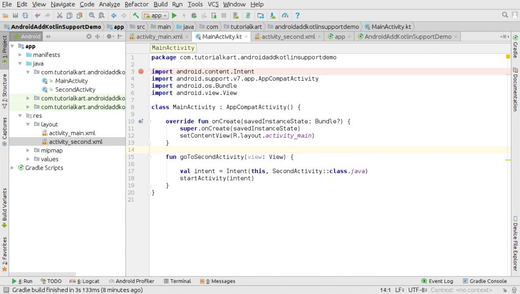 All Java Files converted to Kotlin Files - Convert Java Files in Android Application to Kotlin Files or Classes - Kotlin Tutorial - www.tutorialkart.com