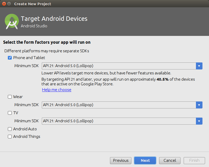 Selection of Application Parameters - Kotlin Android Application Example - www.tutorialkart.com
