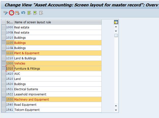 Create Screen Layouat Rules in SAP