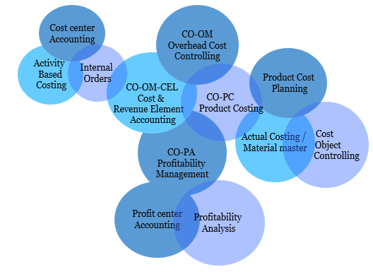 SAP Cost Center Accounting - SAP CO elements
