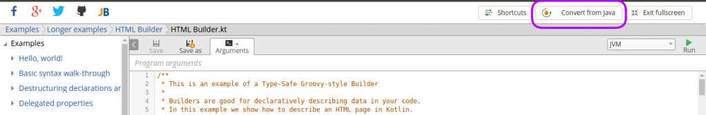 hit the url https://try.kotlinlang.org/ - Kotlin Tutorial