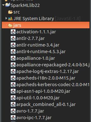 Create a Java Project with Apache Spark MLlib - Apache Spark Tutorial - www.tutorialkart.com
