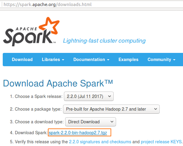 How to create Java Project with Apache Spark