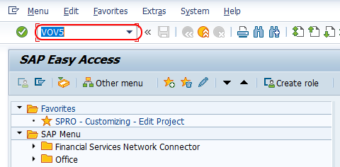 Assign schedule line categories tcode SAP