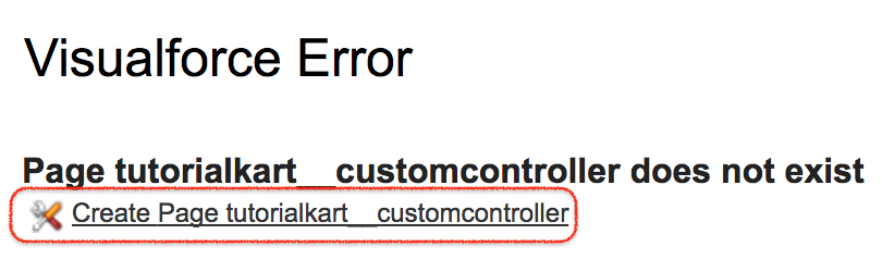 Custom Controller in Salesforce