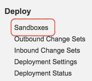 How to create Salesforce Sandbox