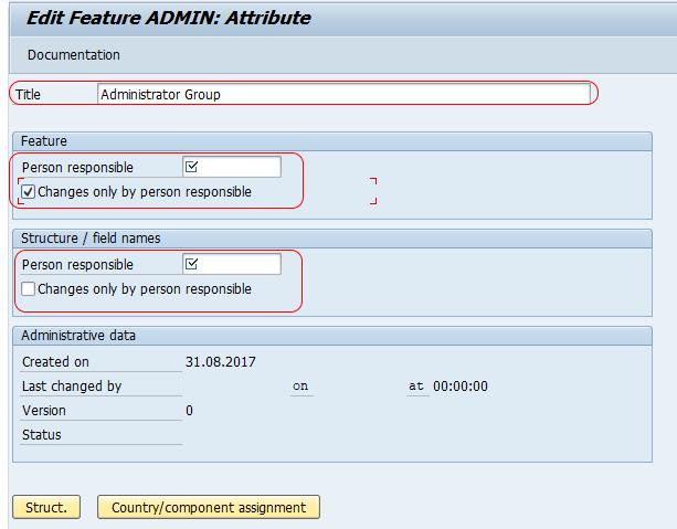 Define Administrator Groups in SAP HR