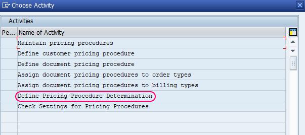 How to Define Pricing Procedure Determination in SAP SD