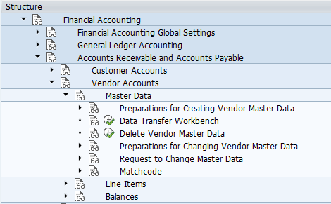 SAP Accounts Payable configurations