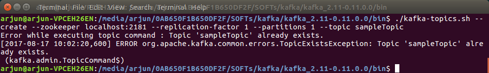 Apache Kafka - Create Topic - Syntax and Examples