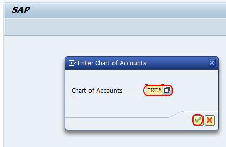 chart of accounts for cash discounts SAP