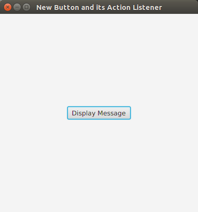 Create new Button and Set Action Listener in JavaFX