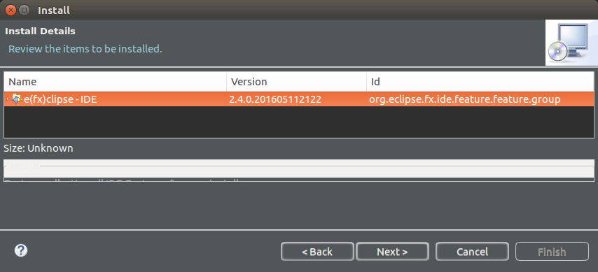 How to install JavaFX in Eclipse IDE