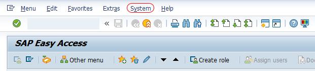 user own data system sap