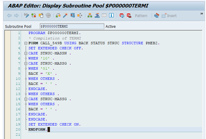 SAP ABAP Program example