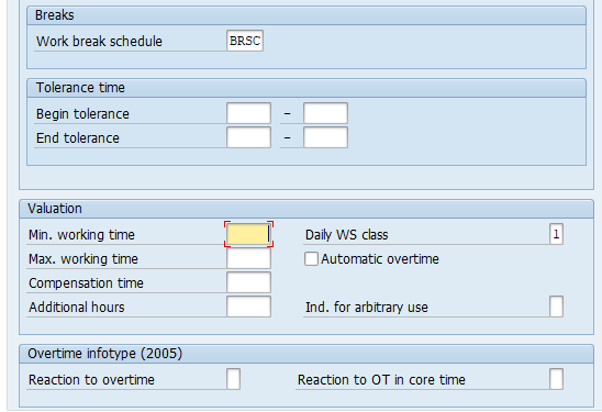 Time Management - daily work schedules