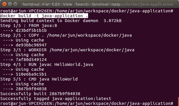 Docker Java Example Build