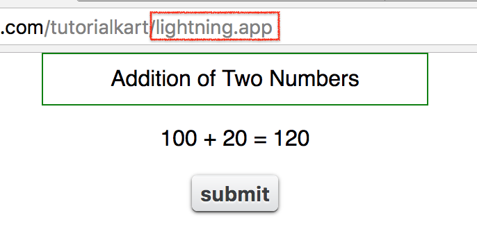 lightning Component Attribute