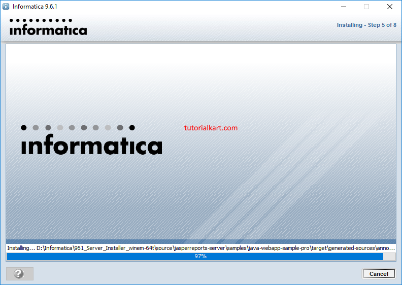 Informatica Server installation