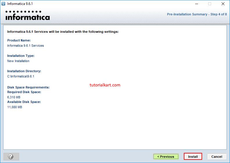 Informatica PowerCenter Installation & Configuration