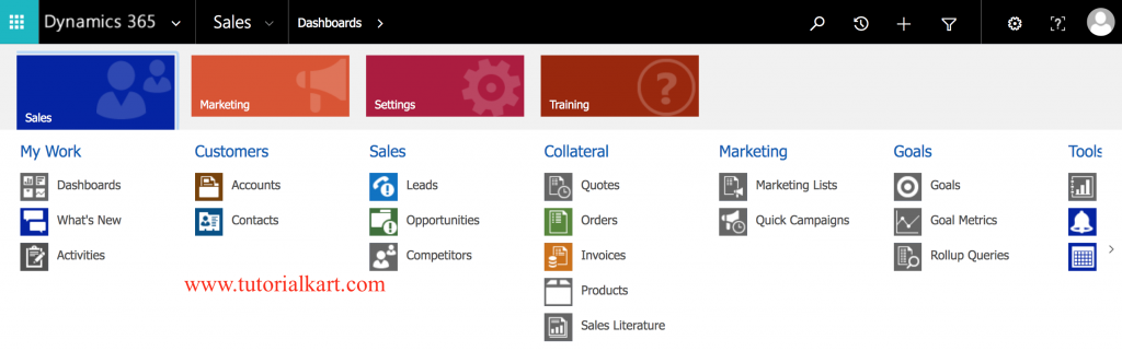 Microsoft Dynamics CRM Modules