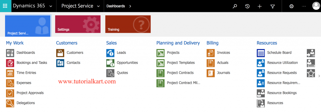 Microsoft Dynamics 365 for Project Service