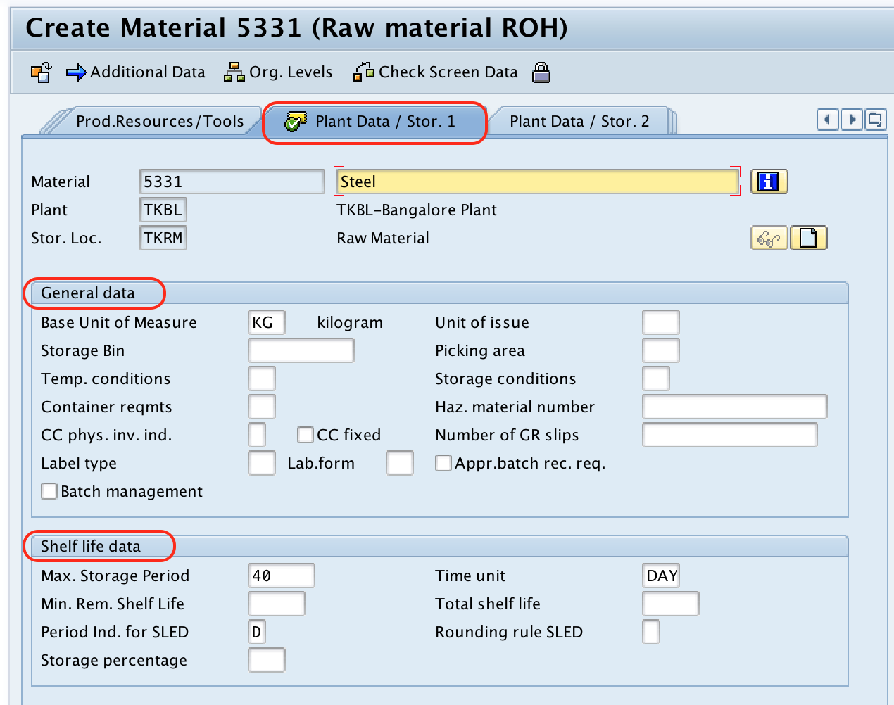 SAP MM - Create Material Master Record (Material Codes) in SAP