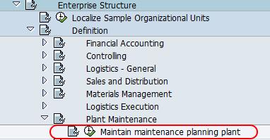 Maintain maintenance plant