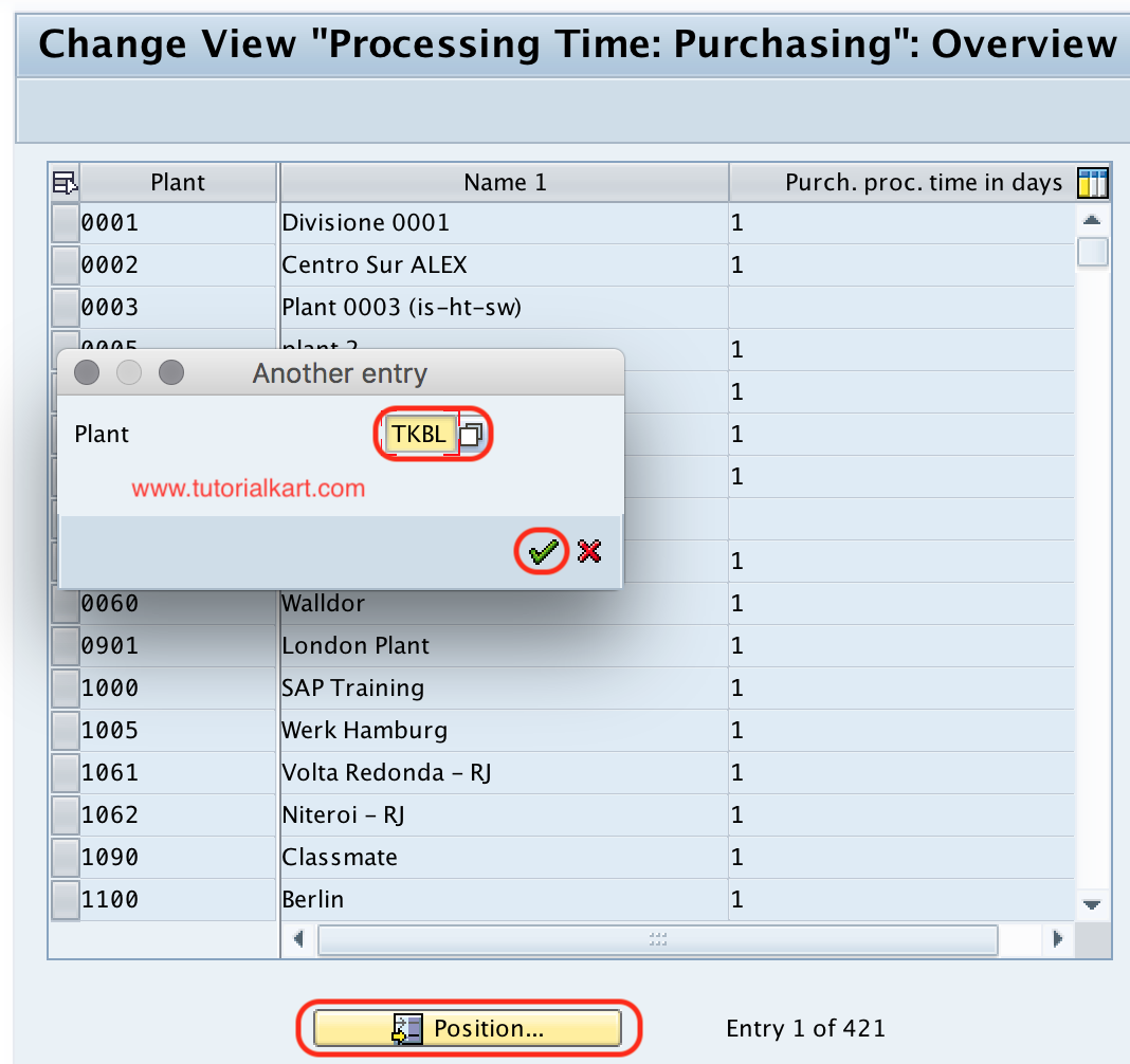 SAP MM - Define Processing Time for Purchase Requisition
