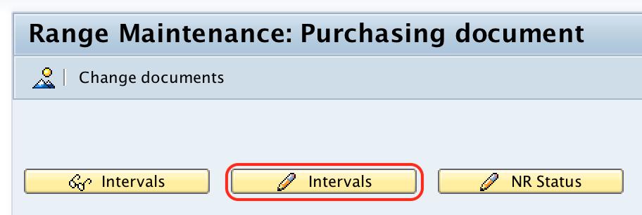 Range maintenance purchasing RFQ document