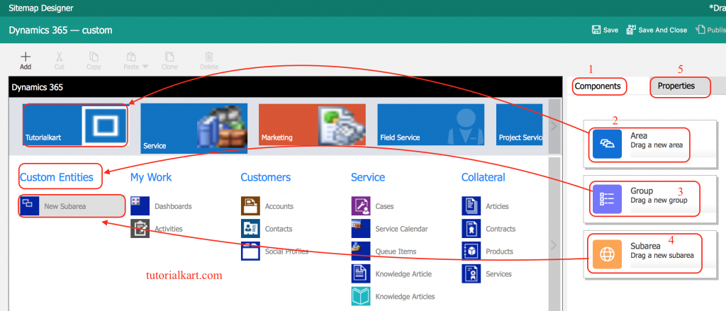 What is Site map Designer in Dynamics 365