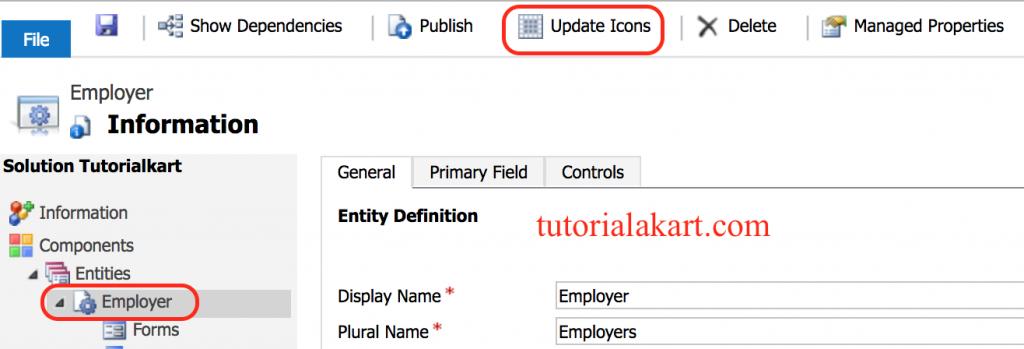 change custom entity Icons in Dynamics 365