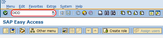 Assign order types to maintenance plant tcode SAP