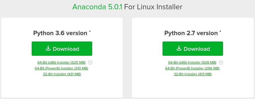 Install Anaconda Python on Ubuntu