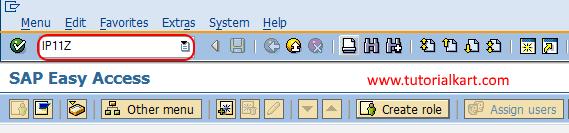 maintain cycle set t-code SAP