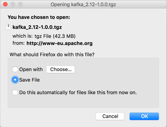 Kafka - Install Apache Kafka on Mac