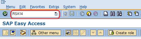 create infoarea in SAP BW