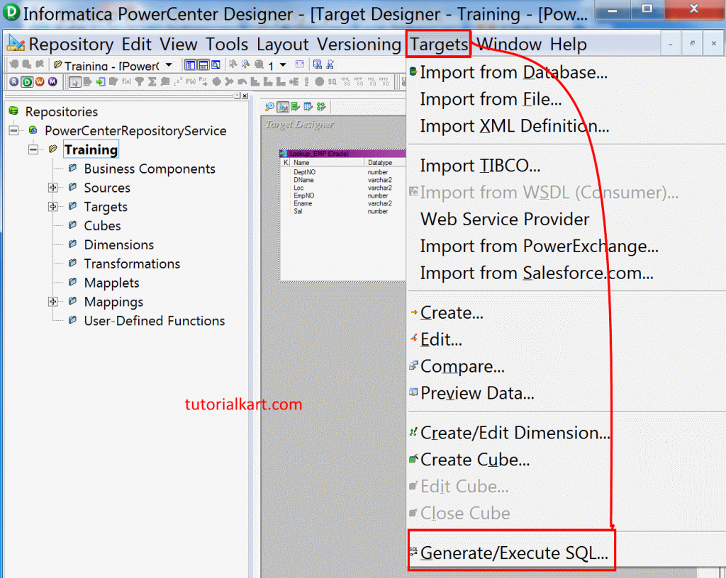 Lookup Transformation in Informatica with example