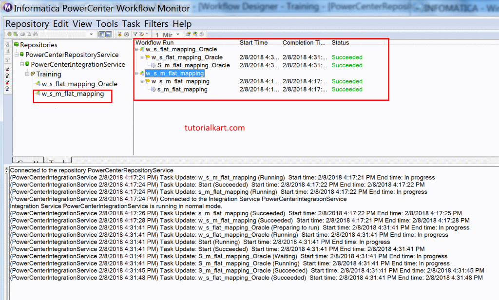 Monitor ETL process - View State