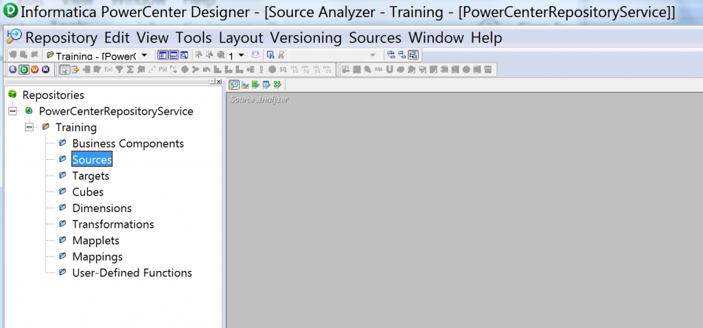 Informatica PowerCenter designer