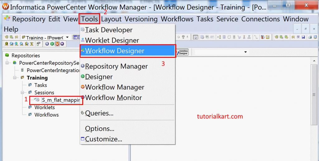 Workflow in Informatica ? Create & run Informatica workflow