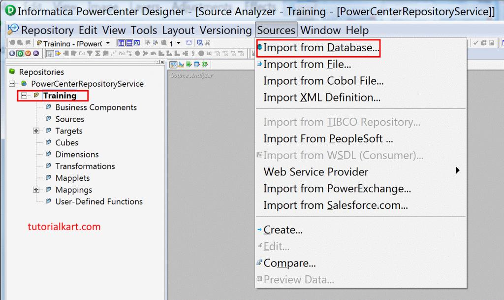 ETL development process - creating source metadata