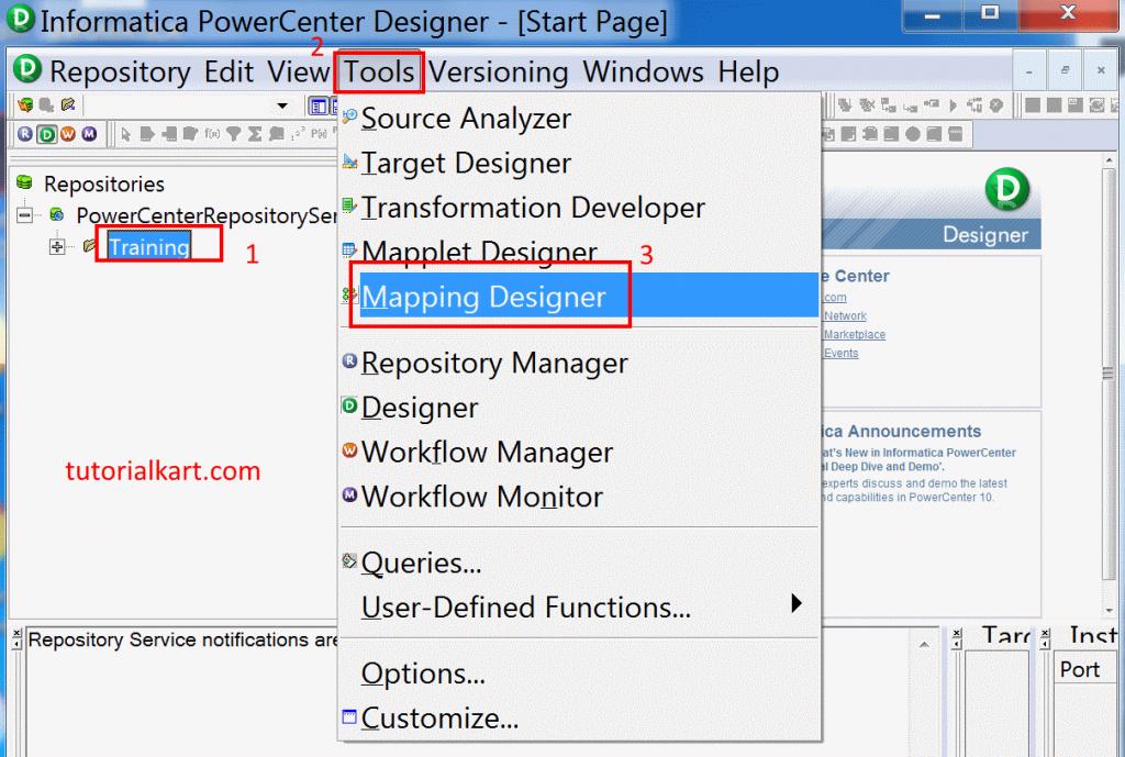 What is Informatica PowerCenter Designer
