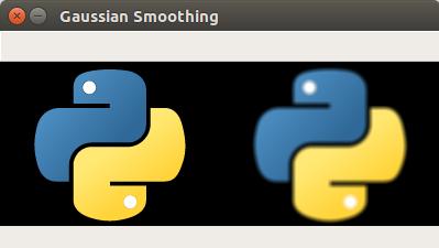 OpenCV Python - Gaussian Image Smoothing
