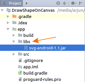 Android Studio - Add External Jar to Library/Dependencies